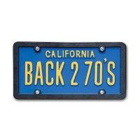 USA カスタム オーダー ライセンス プレート - カリフォルニア ブルー