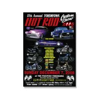 17th YOKOHAMA HOT ROD・Custom Show 2008 ポスター
