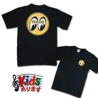 MOON EYEBALL T-Shirts Black from USA