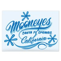 MOONEYES California Pinstripe Sticker ブルー