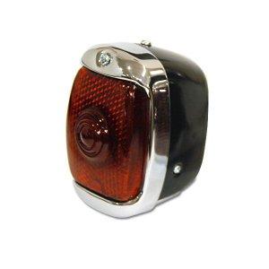 画像1: Old School テール ランプ ブラック【モーターサイクル用】
