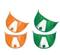カラーヘッドライトバイザー(グリーン、オレンジ)