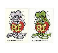 Rat Fink Made in USA ステッカー 9×5.7cm