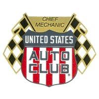 ホットロッド ステッカー UNITED STATES AUTO CLUB ステッカー