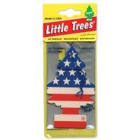 Little Tree エアーフレッシュナー スター&ストライプ