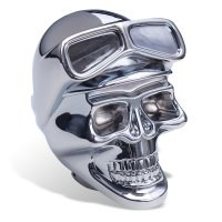 Chrome Skull with Goggle シフトノブ
