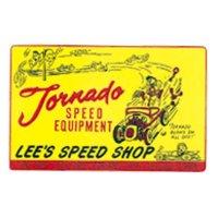 ホットロッド ステッカー LEE'S SPEED SHOP ステッカー
