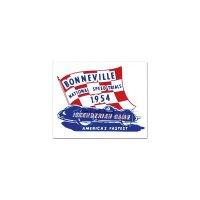 ホットロッド ステッカー 1954 BONNEVILL NATIONAL SPEED TRAIALS ステッカー