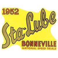 ホットロッド ステッカー 1952 Sta-Lube BONNEVILL ステッカー