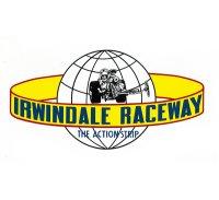 ホットロッド ステッカー IRWINDALE RACEWAY ステッカー