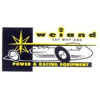 ホットロッド ステッカー weiand PWER & RACING EQUIPMENT ステッカー