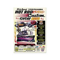 12th YOKOHAMA HOT ROD・Custom Show 2003 ポスター