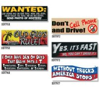 Bumper Stickers -6 (DDTT-6)