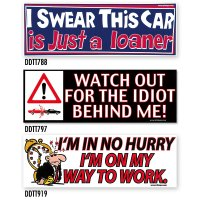 Bumper Stickers -9 (DDTT-9)