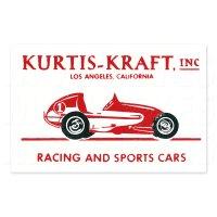 ホットロッド ステッカー KURTIS-KRAFT ステッカー