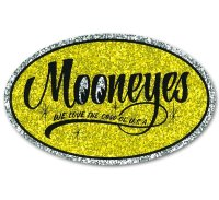MOONEYES Oval ステッカー