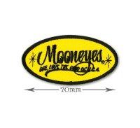 MOONEYES Oval Logo パッチ S