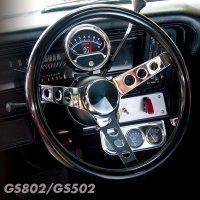 Grant Classic Cruisin' Black Vinyl steering Wheels 31cm / 34cm
