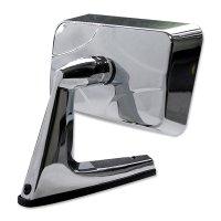 Chrome Door Mirror Square