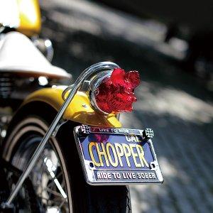 画像5: California Motorcycle ライセンス プレート (ブルー)