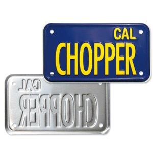 画像4: California Motorcycle ライセンス プレート (ブルー)