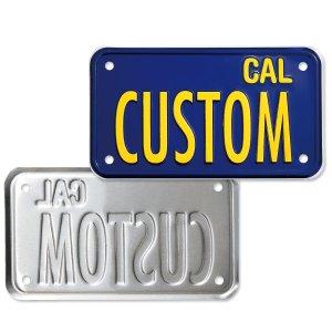 画像3: California Motorcycle ライセンス プレート (ブルー)