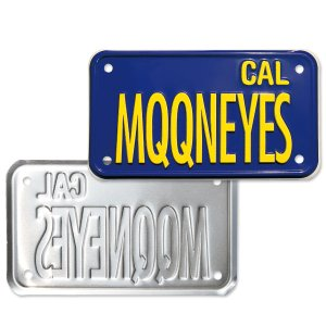 画像2: California Motorcycle ライセンス プレート (ブルー)