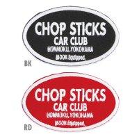 MOON Equipped CHOP STICKS CAR CLUB パッチ