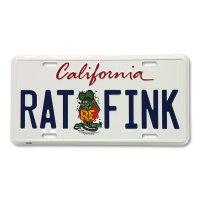 Rat Fink カリフォルニア プレート
