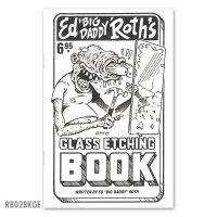 ED ROTH BOOK - GLASS ETCHING(ガラス エッチング)