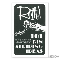 ED ROTH  BOOK - 101 PINSTRIPING IDEAS