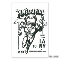 ED ROTH BOOK - PISTRIPING IDEAS From LA to NY