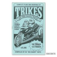 ED ROTH BOOK - TRIKES (HOW TO BUILD TRIKES! V8 & VW)