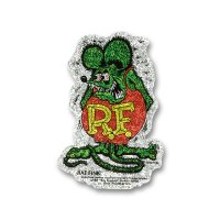 Rat Fink Crazy Flake ステッカー