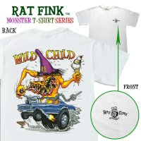 """ラット フィンク モンスター Tシャツ """"Wild Child"""""""