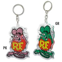 Rat Fink クリア キーリング