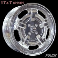 Speed Master Wheel 17×7 5H/4H【ポリッシュ】