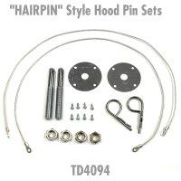 """HAIRPIN"" Style Hood Pin Sets"
