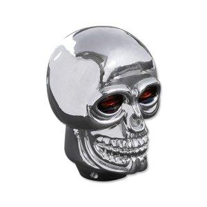 画像1: Plastic Skull シフトノブ クローム