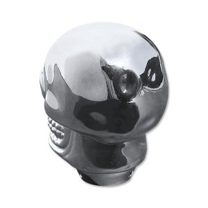 画像2: Plastic Skull シフトノブ クローム