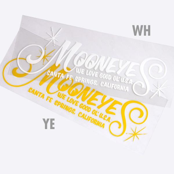 MOONEYES Logo Die Cut Sticker
