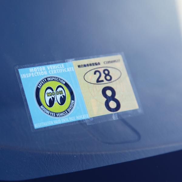 MOONEYES K-Car JCI ステッカー (平成26年1月以降)