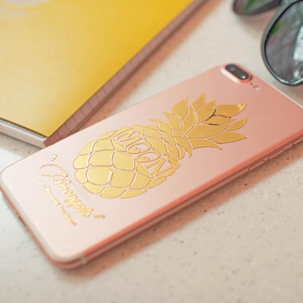Pineapple Sticker (Script Style)