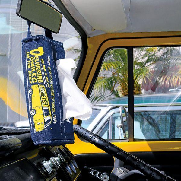 MOON Bus デニム ティッシュ カバー
