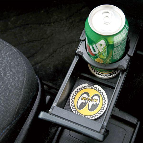 MOON Stone Car Coaster (Set of 2)