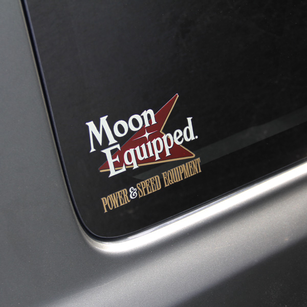 MOON Equipped Power & Speed Equipment 抜き Sticker