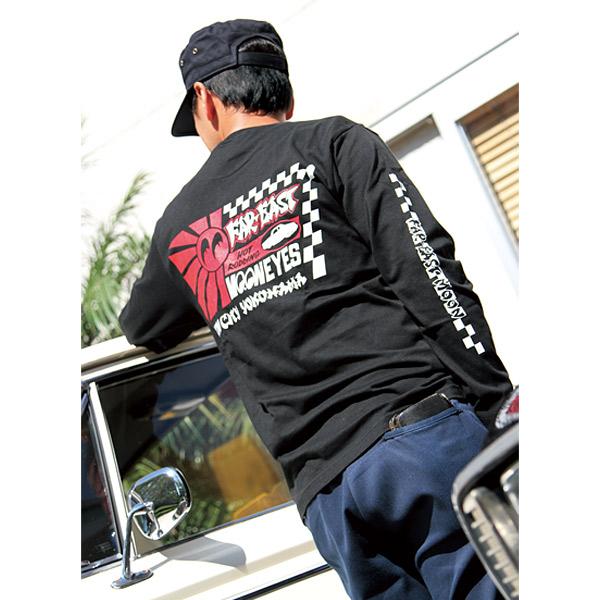 Far East MOON ロング スリーブ Tシャツ