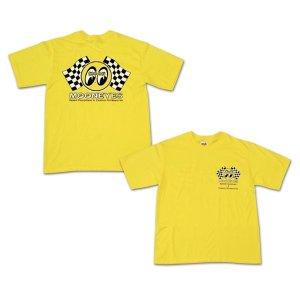 画像1: キッズ&レディース Checker MOON Tシャツ