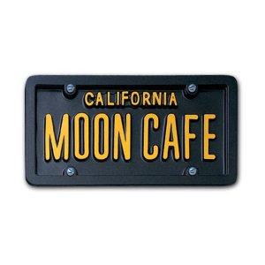画像1: USA カスタム オーダー ライセンス プレート - カリフォルニア ブラック