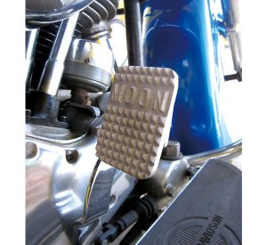 画像1: MOONEYES Original Mini Pedal Pad